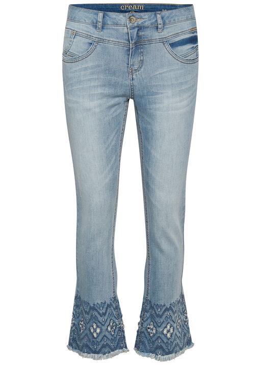 Cream Shape Fit Analis Jeans, Denim, original