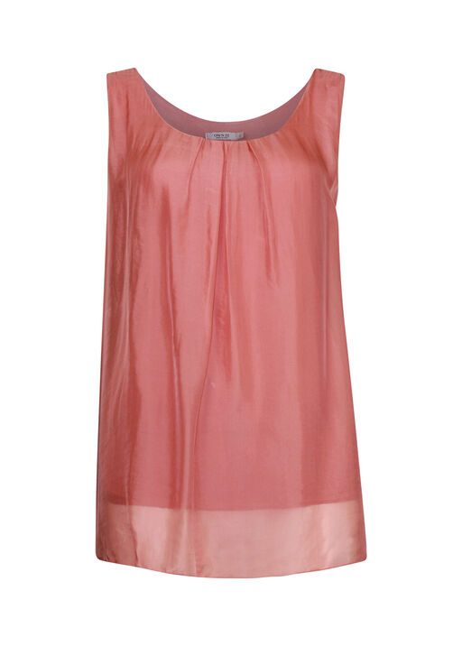 Sleeveless Silk Top , , original