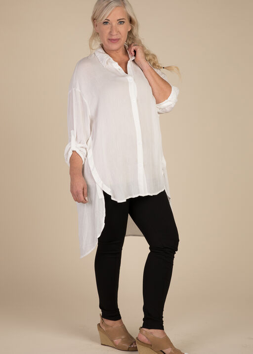 Elena Blouse, White, original