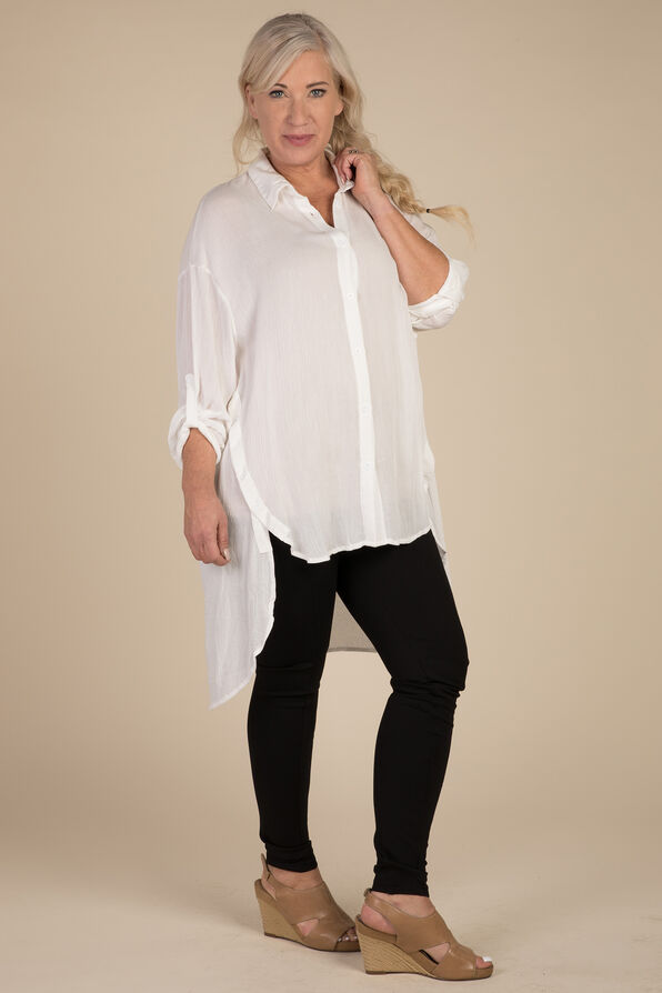 Elena Blouse, White, original image number 0