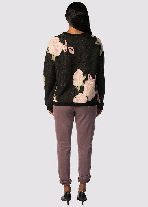 Clarkia Throwback Sweater, Black, original
