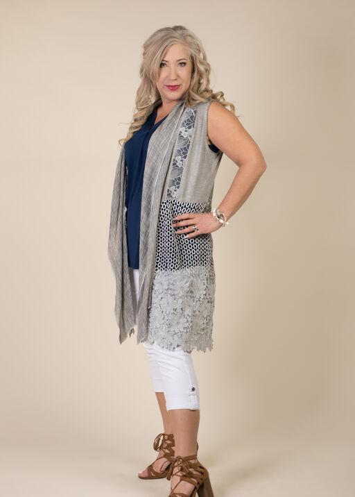 Monroe Sleeveless Duster, Grey, original