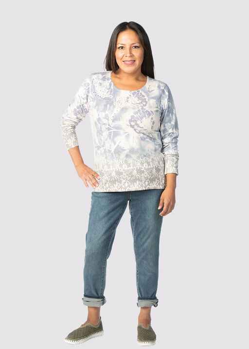 Unbelievably Soft Sweater , Denim, original