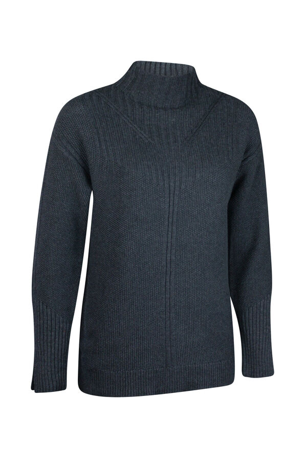 Pointelle Knit Sweater, , original image number 3
