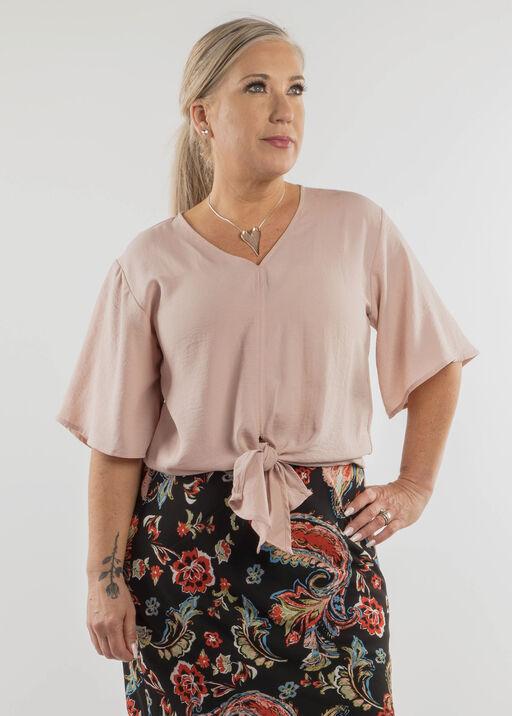 Ava Flutter Sleeve Blouse, , original