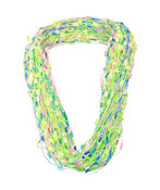 Multi-String Scarf with Magnetic Closure, , original image number 1