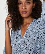 Kaffe Berna Amber Dress with 3/4 Sleeve, Blue, original image number 3
