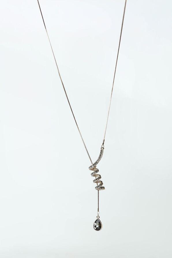 Lariat Pendant, Silver, original image number 0