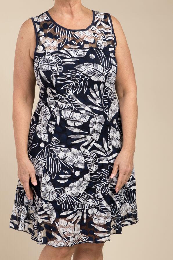 Farrah Dress, Navy, original image number 1