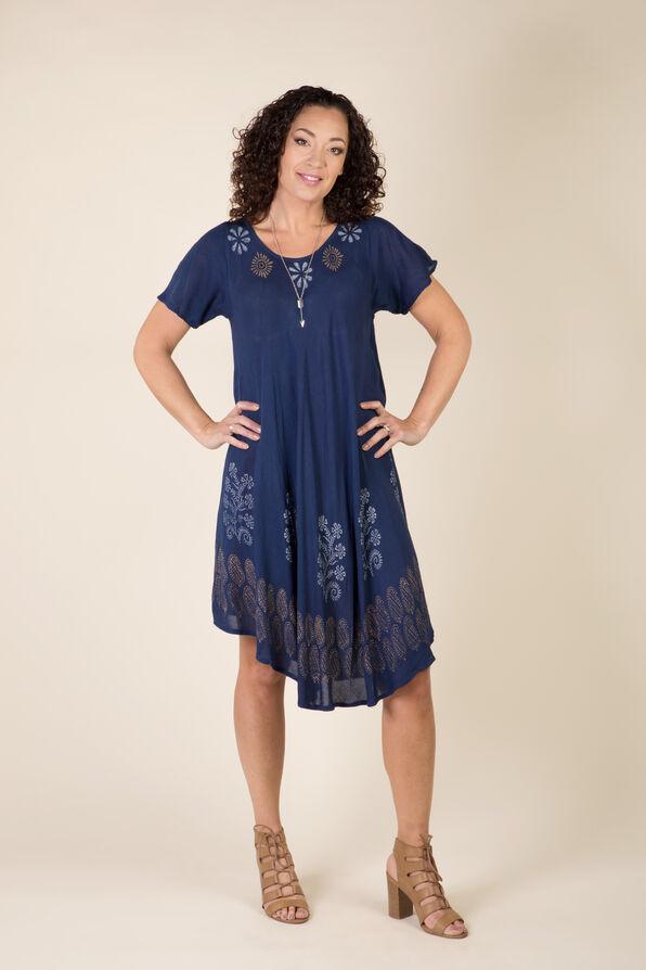 Indigo Dream Dress, Navy, original image number 0