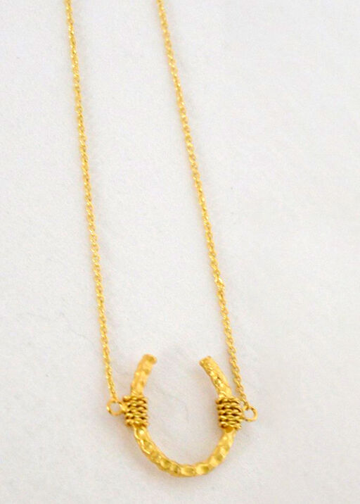 Horseshoe Necklace, , original