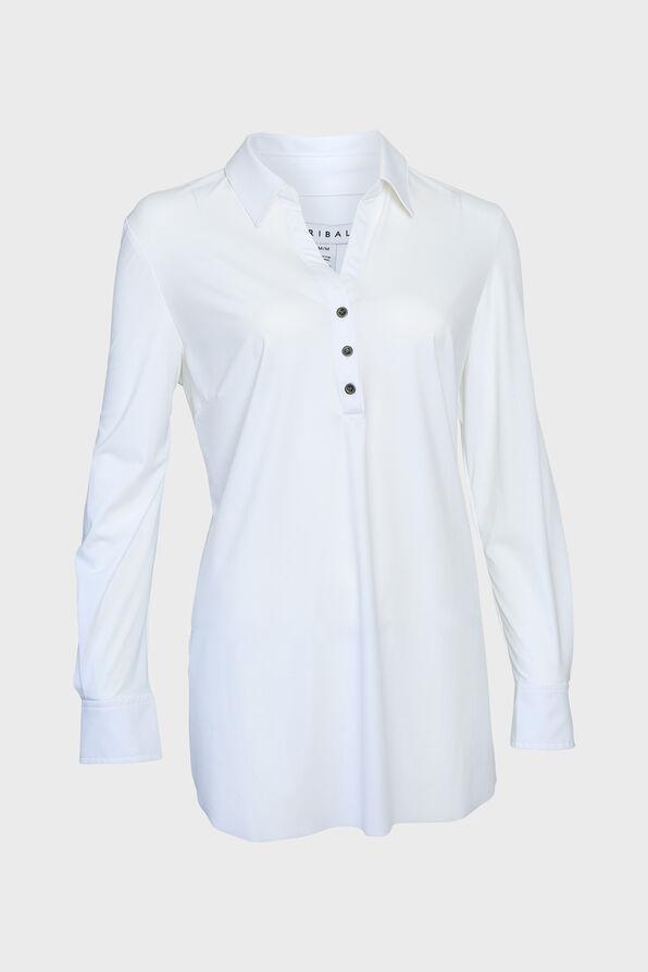 Wrinkle Resistant Dress Shirt, White, original image number 0