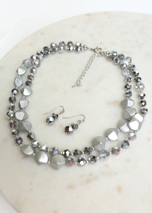 Dress it Up Necklace Set , Silver, original