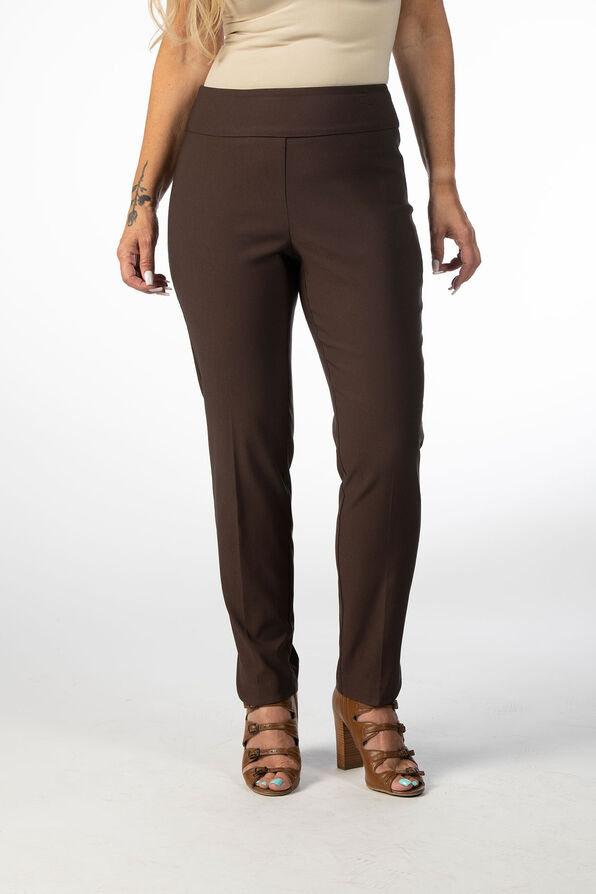 The Abiding Tummy-Control Pants, Brown, original image number 1