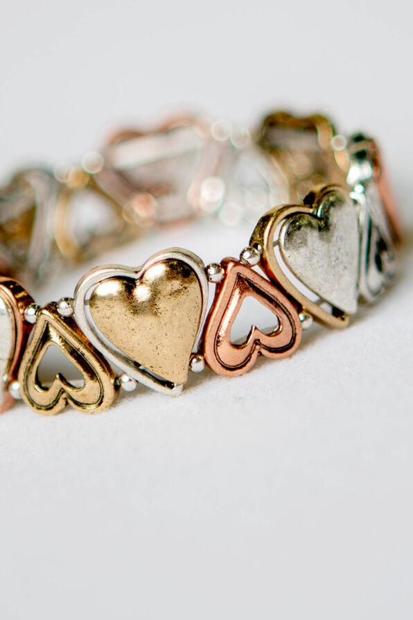 Heart Stretch Bracelet, Multi, original image number 1