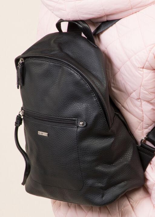 Ladies Backpack, Black, original