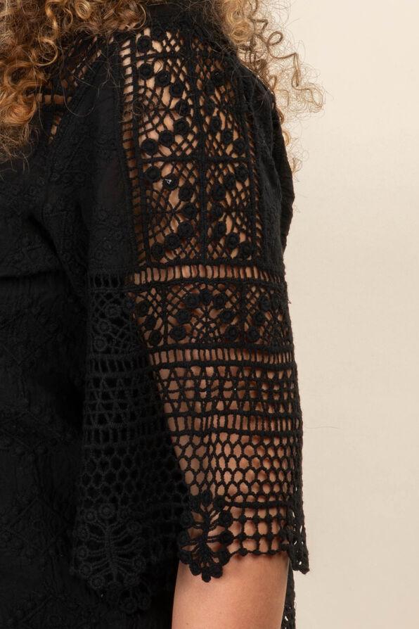 Bohemian Top, Black, original image number 1