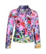 Jacket with Hotfix Shoulders, Fuschia, original image number 0