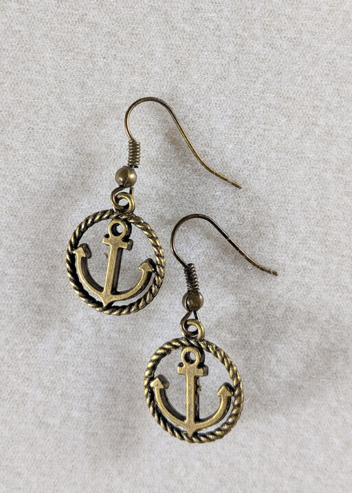 Rope Anchor Earring, , original