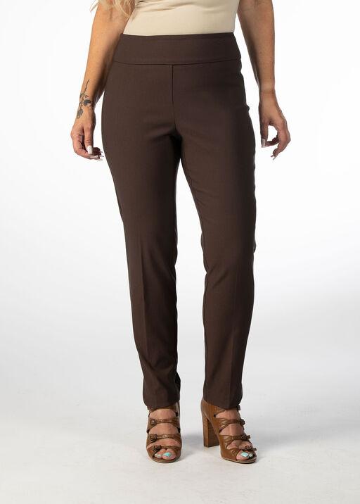 The Abiding Tummy-Control Pants, Brown, original