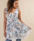 Layered Sleeveless Tunic, , original image number 0