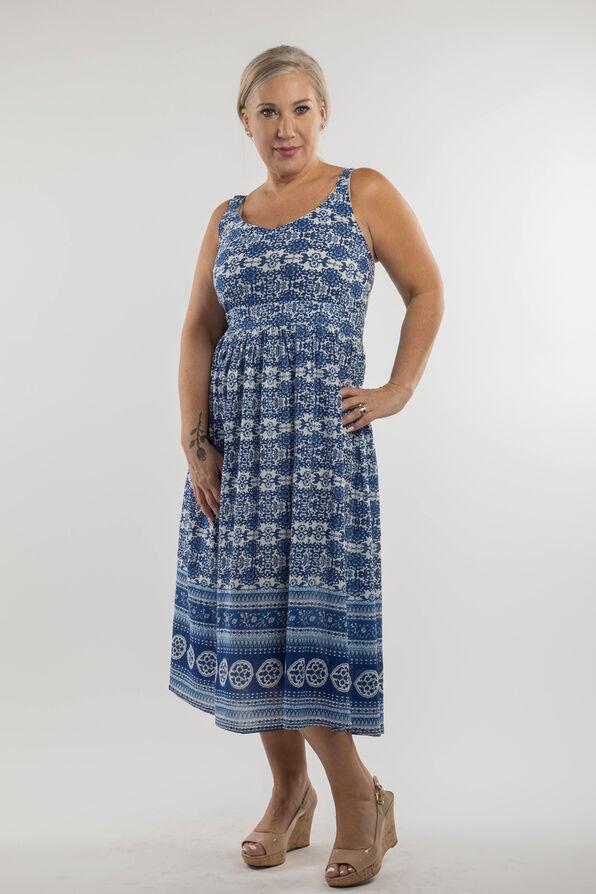 Caterina Maxi Dress, Navy, original image number 0