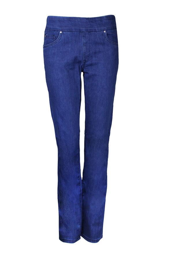 Simon Change Pull On Jean, Blue, original image number 0