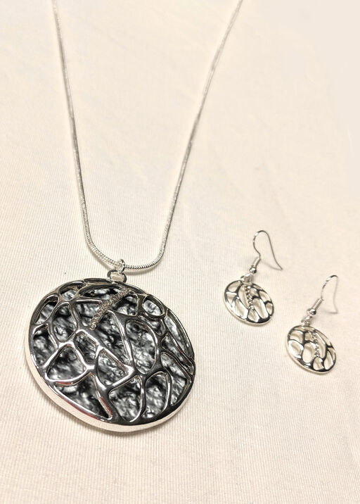 Earring and Necklace Set, , original