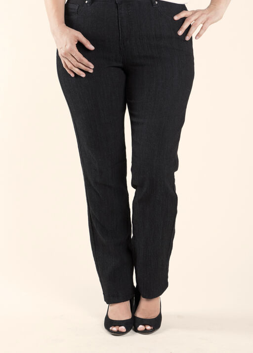 Simon Chang Denim Jean Petite, Black, original