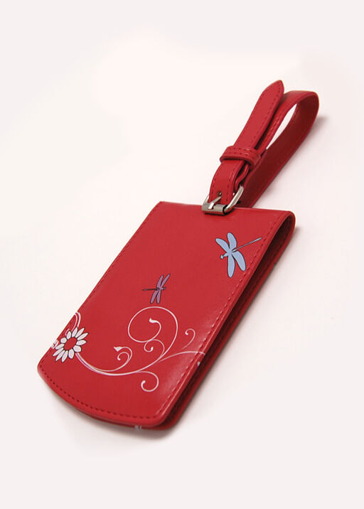 Dragonfly Luggage Tag, , original