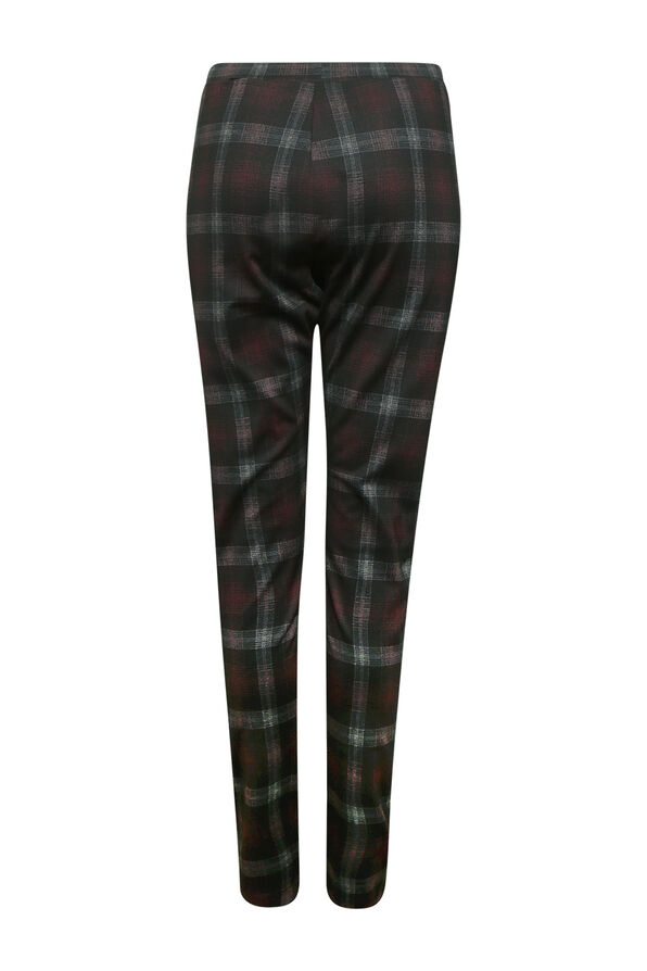 Plaid Legging , Black, original image number 2