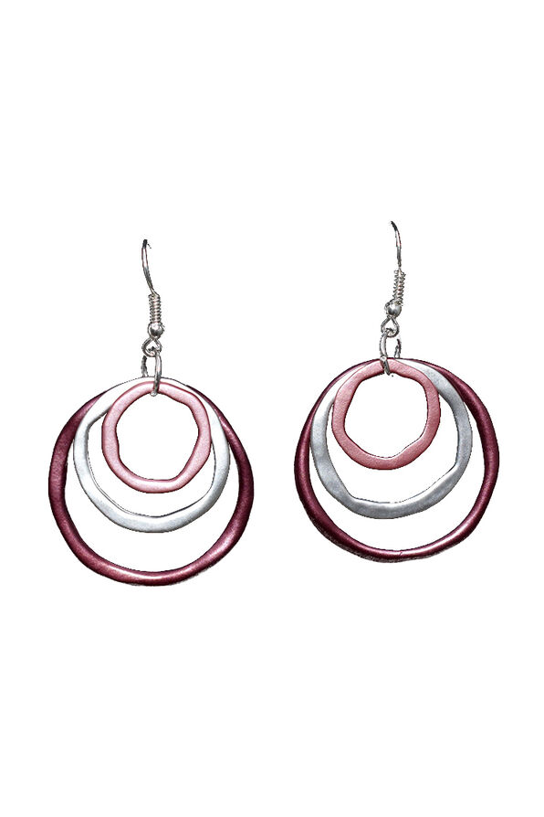 Intertwinded Earrings, Silver, original image number 0