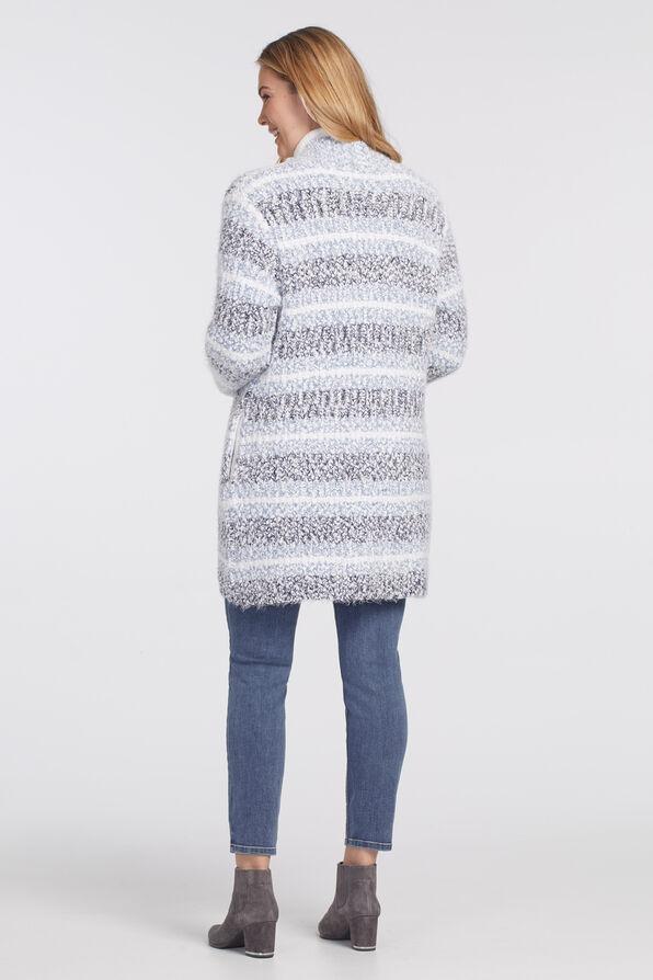 Nikka Cardigan Sweater, Denim, original image number 1