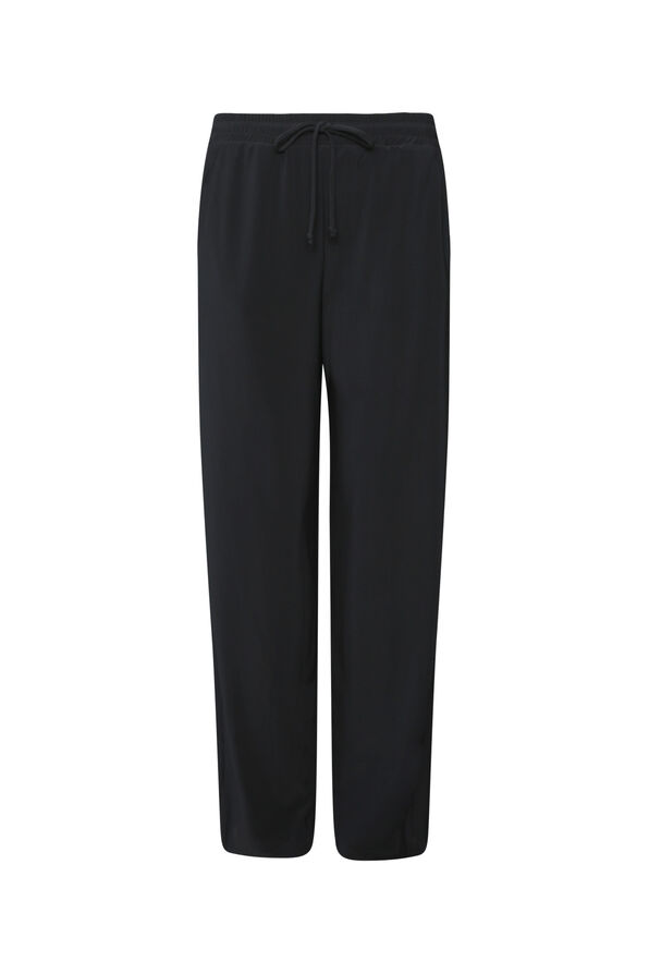 Petite Tasha Wide Leg Pant, Black, original image number 0