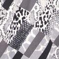 Printed Long Sleeve Tunic, Grey, swatch