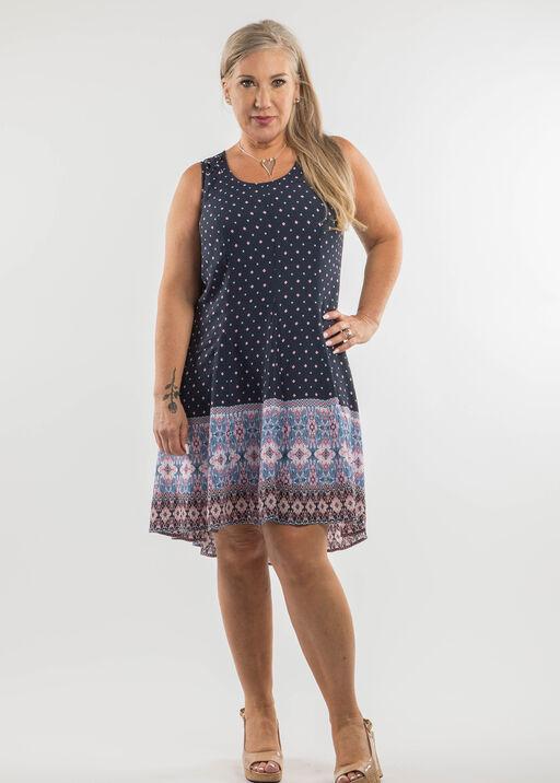Madison Hi Lo Sleeveless Dress, , original