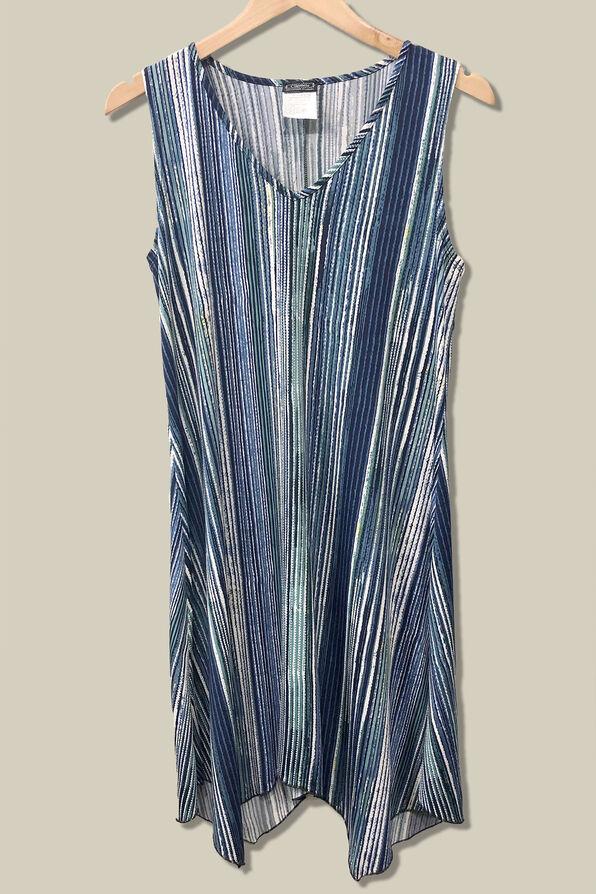 Ocean Shade Sleeveless Dress, , original image number 1