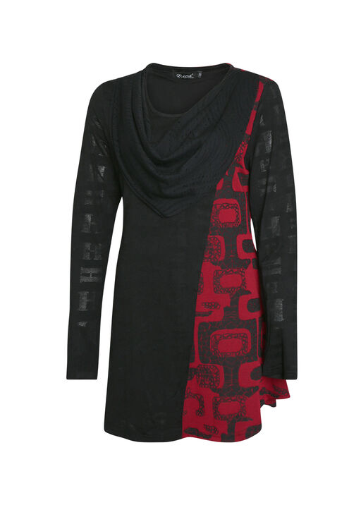Vanessa Tunic with Scarf, , original