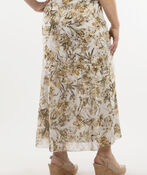 Long and Leafy Skirt, Cream, original image number 1