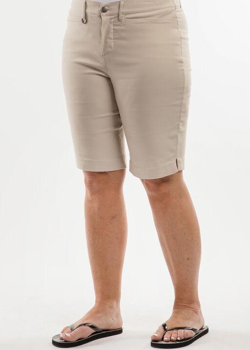 Mirco Twill Bermuda Short -Petite, , original