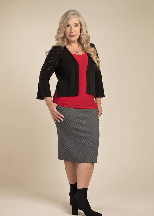 Polka Dot Pencil Skirt, , original