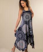 Beach Comber Sun Dress, Blue, original image number 1