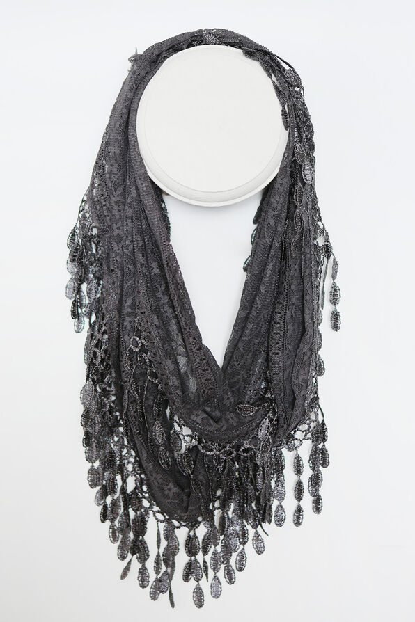 Infinity Lace Scarf, , original image number 0