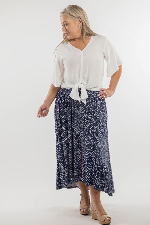 Daphne Skirt, Navy, original image number 2
