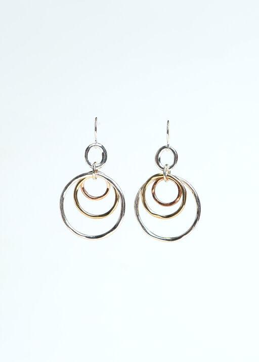 Triple Circle Earrings, , original