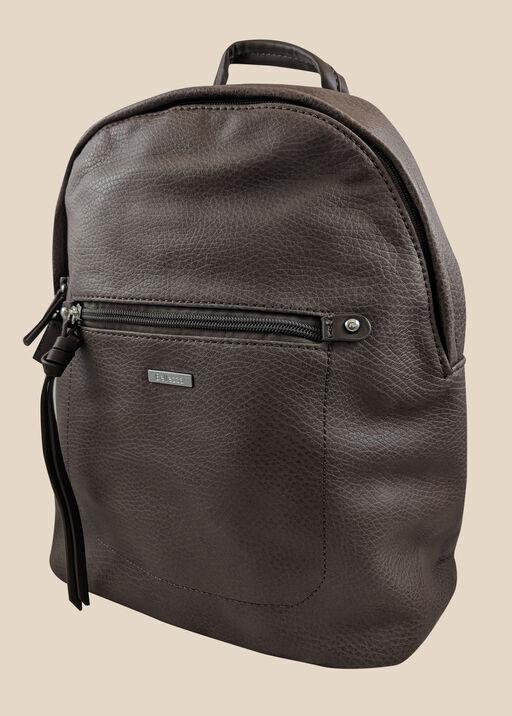 Ladies Backpack, Brown, original