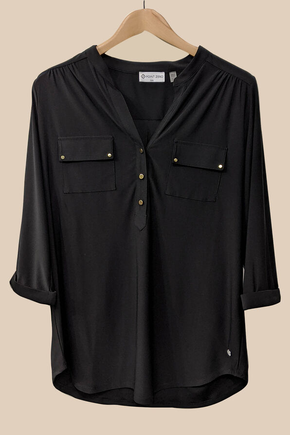 Catia Blouse, Black, original image number 0