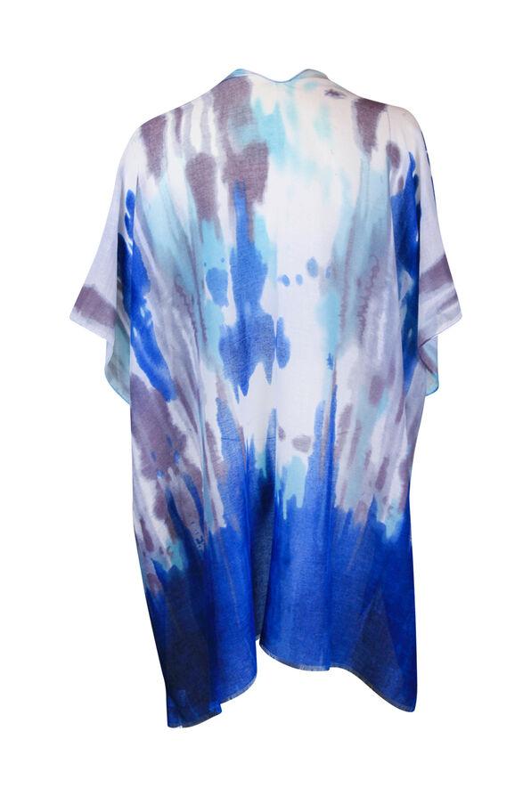 Tie Dye Kimono, Blue, original image number 1