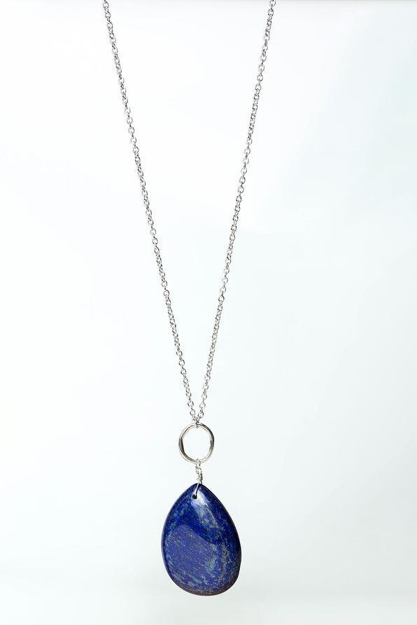 Lapis Necklace, Blue, original image number 0
