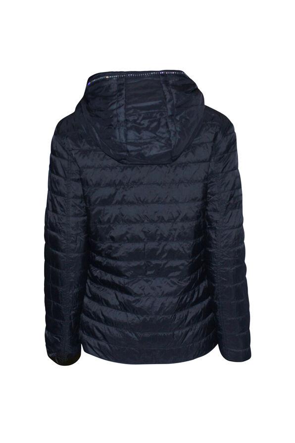 In the City Reversible Jacket with Hidden Hood, Orange, original image number 3